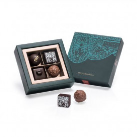 The Peninsula Hong Kong Classic & Grand Cru Chocolate 4 pieces