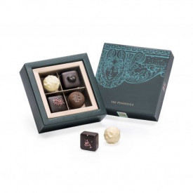 The Peninsula Hong Kong Fabulously Fruity Classic & Fruits Chocolate 4 pieces