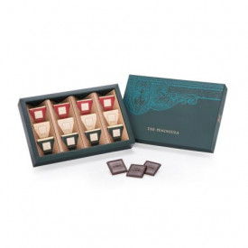 The Peninsula Hong Kong Assorted Dark Chocolate Carres 12 pieces