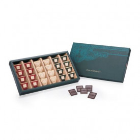 The Peninsula Hong Kong Assorted Dark Chocolate Carres 24 pieces
