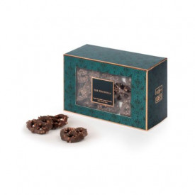 The Peninsula Hong Kong Dark Chocolate-coated Pretzels with Cocoa Nibs
