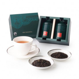 The Peninsula Hong Kong Earl Grey & Peninsula Blend Tea Gift Set