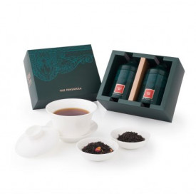 The Peninsula Hong Kong Rose Black tea & Lychee Black Tea Gift Set