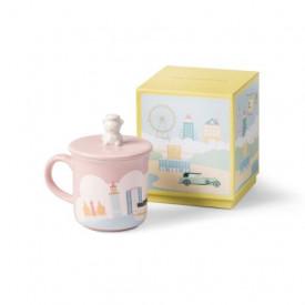 ザ・ペニンシュラ香港 クマ マグカップ ピンク色