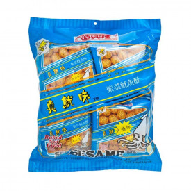 Sze Hing Loong Sesame Cuttlefish with Seaweed Snack Puff 8 packs