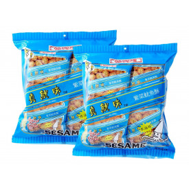 Sze Hing Loong Sesame Cuttlefish with Seaweed Snack Puff 16 packs