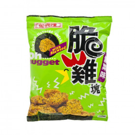 Sze Hing Loong Oh Nugget Chicken Flavoured Snack With Seaweed