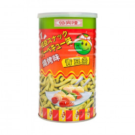 Sze Hing Loong Green Pea Snack BBQ Flavour