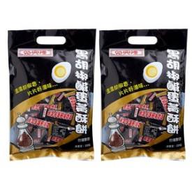 時興隆 黒胡椒と塩たまご入りクッキー  220g × 2袋
