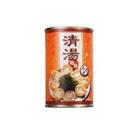 官燕棧 塩水にアワビを漬け 缶詰 6—8粒
