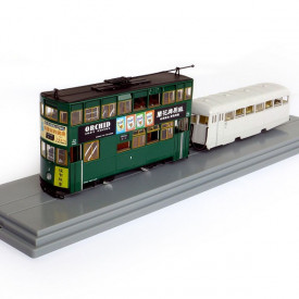 HK Tramways HK Tram Die-cast Model 1960s Tram Trailer