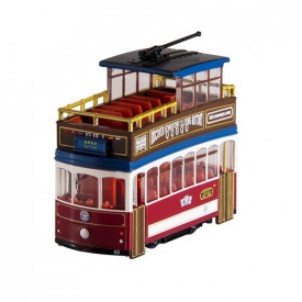 HK Tramways Plastic Toy Sightseeing Tram with pull-back function