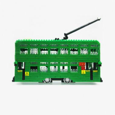 HK Tramways Tram Toy Building Blocks