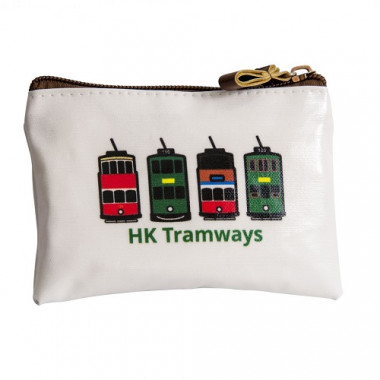 HK Tramways Zip Pouch