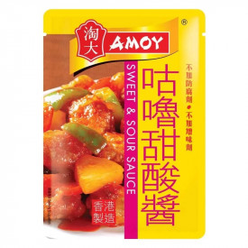 Amoy Sauce for Sweet & Sour Pork or Spare Ribs 80g