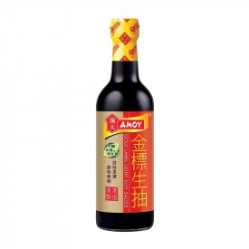 Amoy Gold Label Light Soy Sauce 500ml
