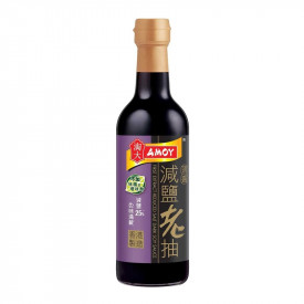 Amoy First Ex Reduced Salt Dark Soy Sauce 500ml
