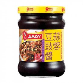 Amoy Black Bean & Garlic Sauce 235g