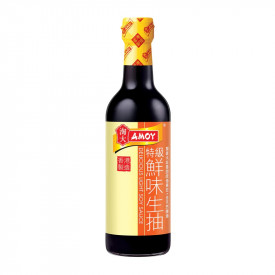 Amoy Delicious Light Soy Sauce 500ml