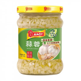 Amoy Minced Garlic 220g