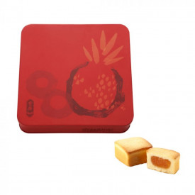 Kee Wah Bakery Pineapple Shortcakes Egg Yolk Flavour Gift Box 9 pieces