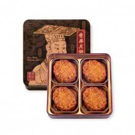 奇華餅家 純白蓮蓉月餅禮盒 4個