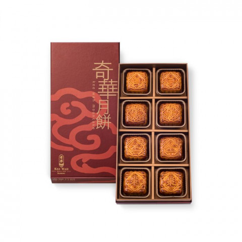 Kee Wah Bakery Assorted Mini Mooncake 8 pieces