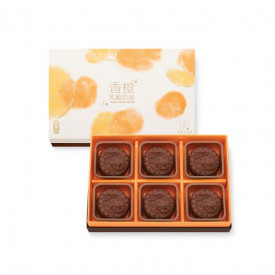 Kee Wah Bakery Yogurt Custard Mooncake with Orange Peel 6 pieces