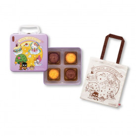 Kee Wah Bakery Sanrio characters Egg Custard Mooncake 4 pieces