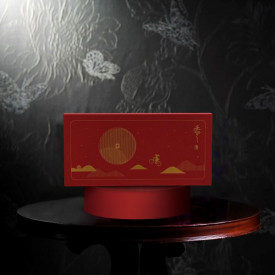 Island Shangri-La Hotel Hong Kong Mini mooncakes with white lotus seed paste with pine nuts 8 pieces