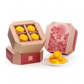 The Peninsula Hong Kong Mini Egg Custard Mooncake 8 Pieces
