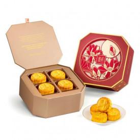 The Peninsula Hong Kong Assorted Mini Egg Custard Mooncake 8 pieces