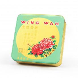 Wing Wah Cake Shop Mung Beans Paste Mooncake with Yolk 4 pieces