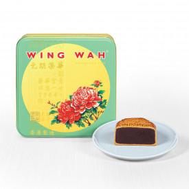 Wing Wah Cake Shop Red Bean Paste Mooncake 4 pieces