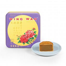 Wing Wah Cake Shop White Lotus Seed Paste Mooncake 4 pieces