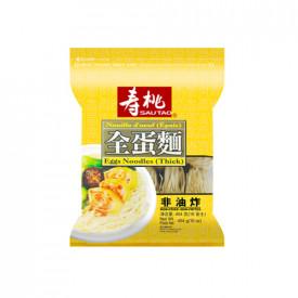 寿桃牌 袋麺 厚い卵麺(太麺) 454g