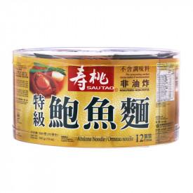 壽桃牌 湯麵 鮑魚麵 540克