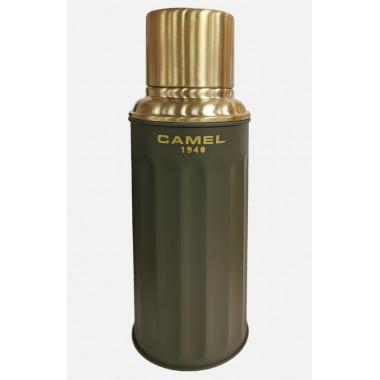 Camel 112 Vacuum Flask 450ml Matte Paint Dark Green