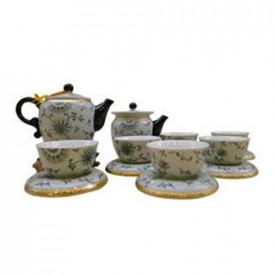 Ying Kee Tea House Lotus Tea Set