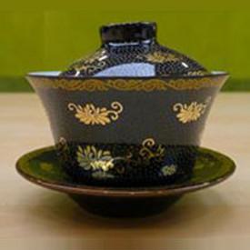 英記茶莊 珍珠金花蓋碗