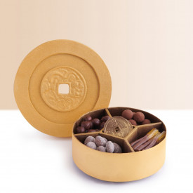Hong Kong Mandarin Oriental Chocolate Lucky Coin Box