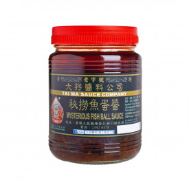 Tai Ma Mysterious Fish Ball Sauce Not Spicy 340g