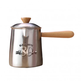 Black & White 80th Anniversary Version Teapot with Tea Strainer
