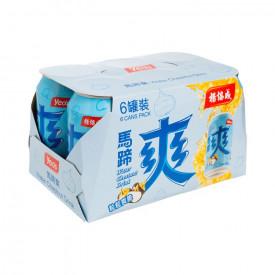 ヨーヒャップセン 馬蹄(シログワイ)飲料 300ml × 6缶