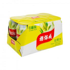ヨーヒャップセン 甘蔗飲料 300ml × 6缶