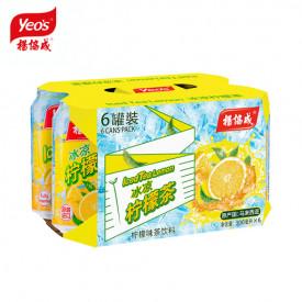 ヨーヒャップセン レモンティー 300ml × 6缶