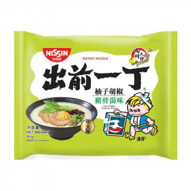 Nissin Demae Iccho Instant Noodle Yuzu Pepper Tonkotsu Flavour