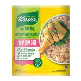Knorr Quick Serve Macaroni Chicken Broth 4 packs