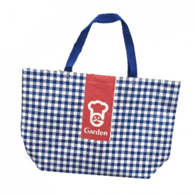 Garden Shopping Bag Blue Color