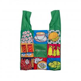 Citysuper 超輕巧摺疊小型購物袋 香港特色